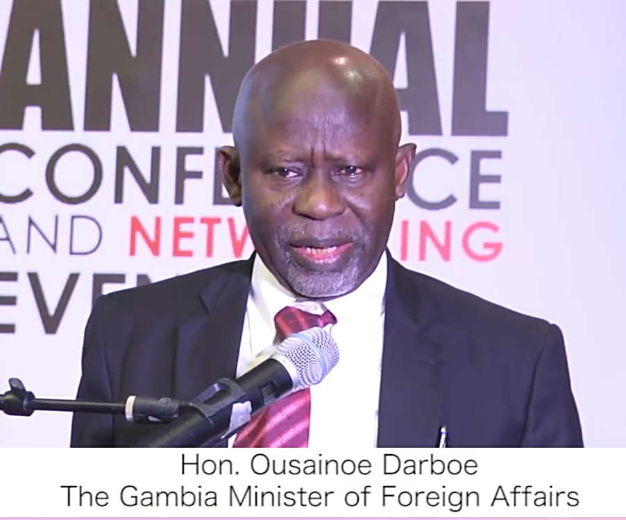 Hon. Ousainou Darboe - Foreign Minister of The Gambia