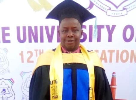 Profile: GDA's Buba Kebele Jatta graduates with BSc (Cum Laude) in Public Administration