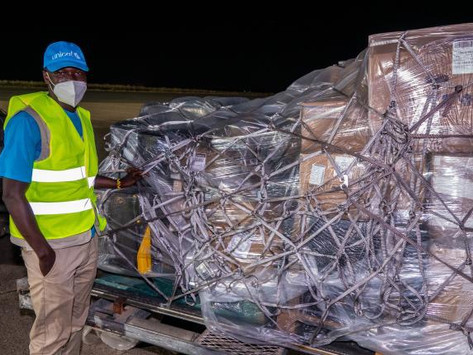 37,000 COVAX syringes arrived in The Gambia ahead of COVID-19 vaccinations