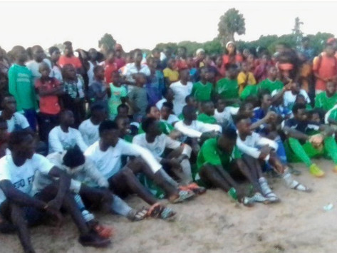 Football: DIEGO FC are Champions of Kaajabang
