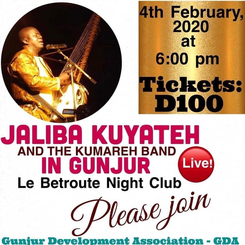 GDA present Jaliba Kuyateh at Le BeatRoute Night Club
