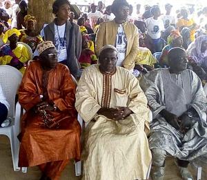 Majority leader Kebba K Barrow