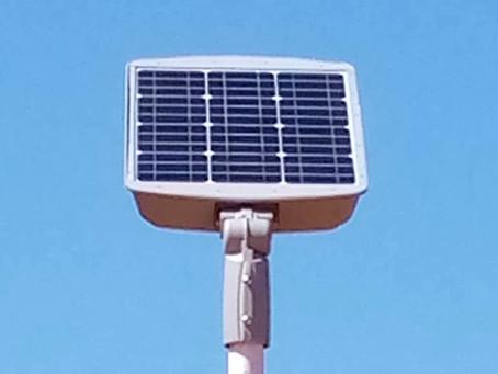 Gunjur cemetery electrified by Solar Enterprises Ltd and YSB