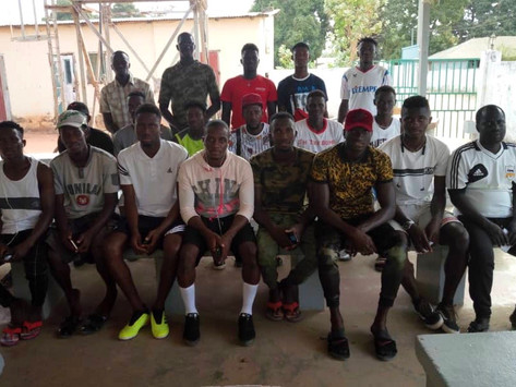 Gunjur United disburses over D40K to players, backroom staff as Covid-19 support