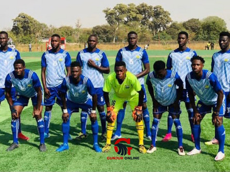 GFF Second Division: Gunjur United registers three consecutive wins by beating Team Rhino