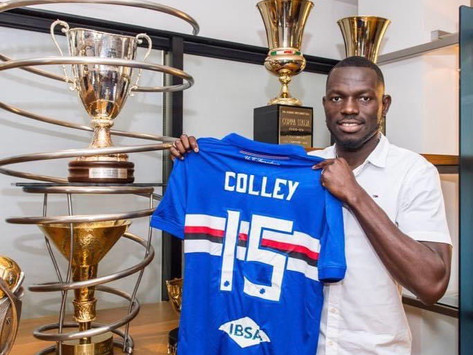 Gambia International Omar Colley linked with a move to Celtic