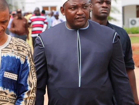 All religions, including non-believers, are equal and safe in this Country - President Barrow
