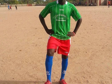Fabakary Touray of Gunjur bags Gambia U17 trials