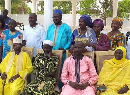 Niumi UDP chapter adopts Amadou Scattred Janneh as father