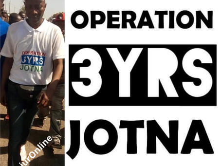 BREAKING: Operation 3 Years Jotna's Sheriff Ceesay wanted by Gambia CID