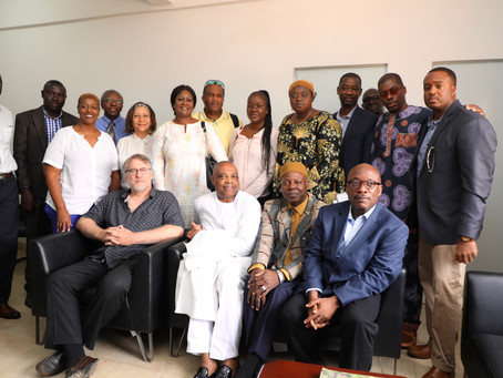 First Lady leads a fact-finding team of Medical consultants to EFSTH