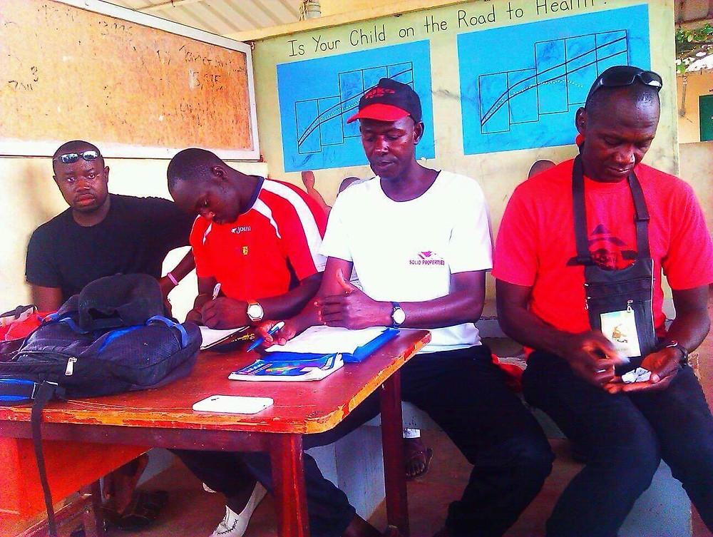 Gunjur Sports Committee Executive Members