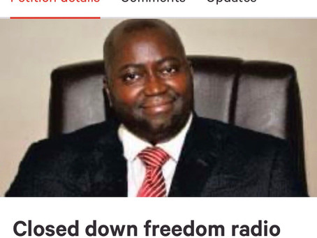 A petition has been started on change.org for the closure of Freedom Radio of Pa Nderry Mbai