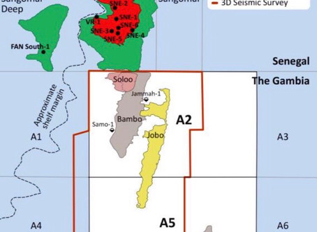 Gambia: 1.2 billion barrels of oil prospects offshore Gambia
