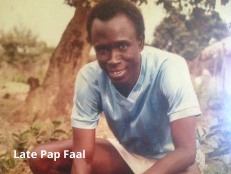 Young Dabanani FC and Gunjur midfielder Pap Faal has died