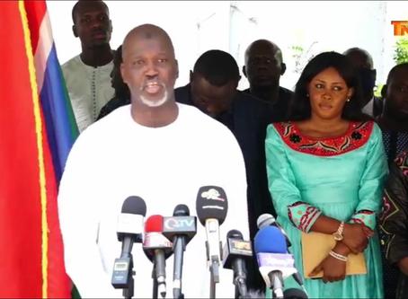 Emotional Ba Tambedou bids farewell as he calls for national unity