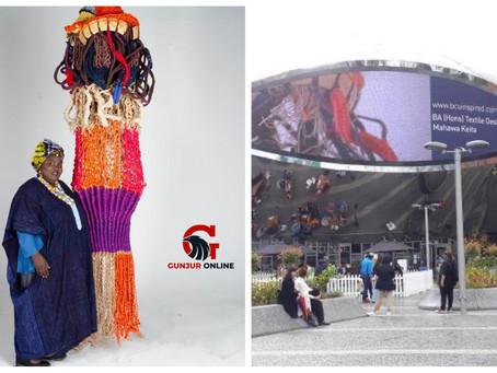 PROFILE: Mahawa Keita bags BA (Hons) in Textile Design
