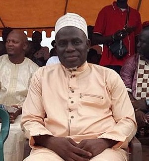 Hon. Kebba K Barrow NAM for Kombo South and Majority Leader of Gambia National Assembly