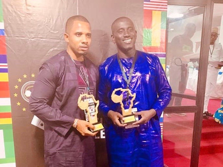 Dr. Ceesay and Momodou Sabally sweep Awards at West African Youth Confab