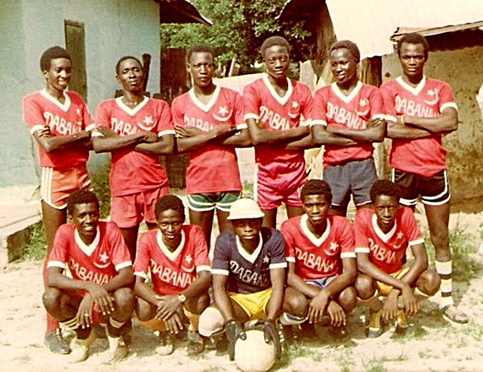 Young Dabanani FC of Gunjur in the 1980's