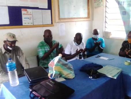 YSB Boosts Gunjur Health Centre with computers