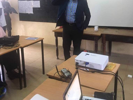 MomodouSabally Inspires Students at a Tech Summer Camp