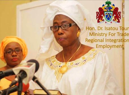 Covid-19: Gambian Vice President tests positive of the Coronavirus
