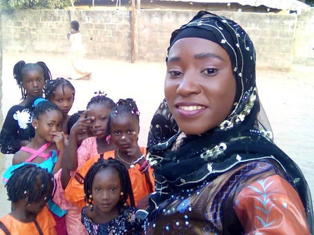 Adama Jarjue: Daughters of Gambia Motivates Girls in Education and Environmental Awareness