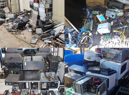 Annually, the World generates over 41 million tons of E-waste