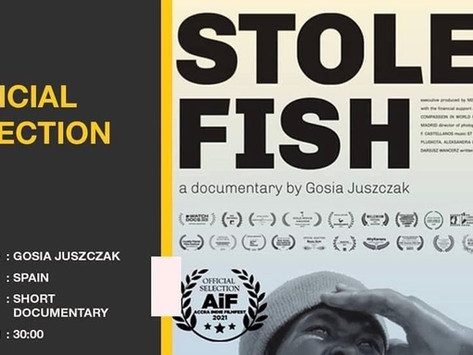 Press Release: The FIRST screening of STOLEN FISH (featuring ST's song) across Africa / 20-24 July