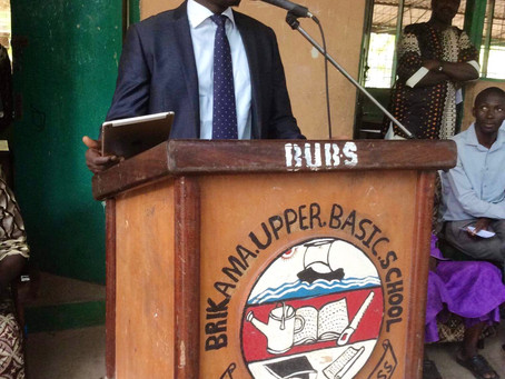 Sabally Honours Rapper ST, as he presidesover two graduation ceremonies