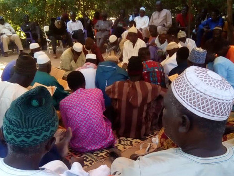 Gunjur pays tribute to late Pap Faal as delegation visits family