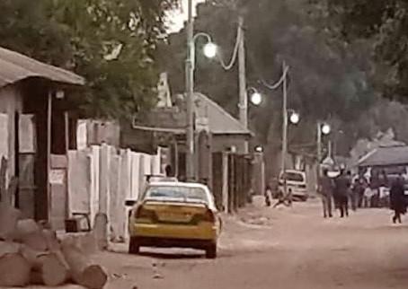 Santo Su Youths kick-start street lighting efforts in Gunjur