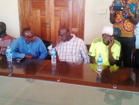 SPORTS: Lamin Darboe C re-elected as GSC Chairman