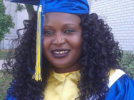 EDUCATION: Mariama Jabang Manjang bags a Degree in  Medical Billing & Coding from Queens College