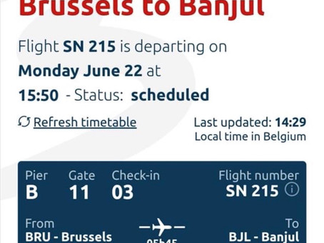 Chaos as most passengers of SN Brussels flight on Monday 22nd June avoid quarantine