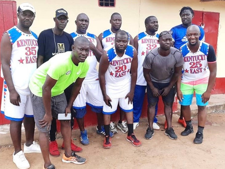 "Falcons FC initiates ""Walk For Health"" in Gunjur"