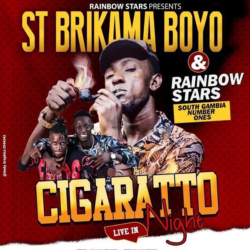 Rainbow Stars Presents ST BRIKAMA BOYO Live in Gunjur Le BeatRoute Night Club