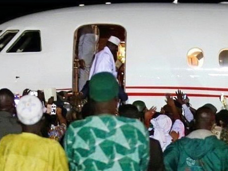 'His spirit was broken, dead', former minister gives inside scoop on Jammeh's last days