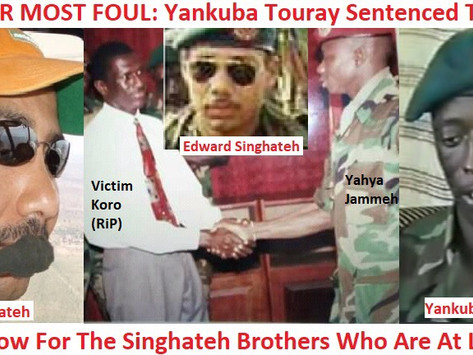 """Op-ed: TRRC's """"Bell Of Justice"""" Must Toll For The Singhateh Brothers!"""