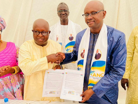 PPP signs memorandum of cooporation with the ANC party of Senegal