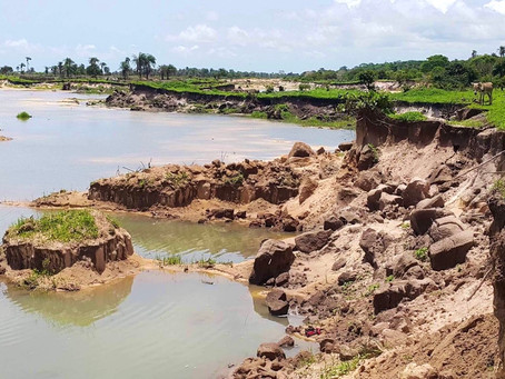 Allow me to cry for the Environmental Destructions in Gunjur