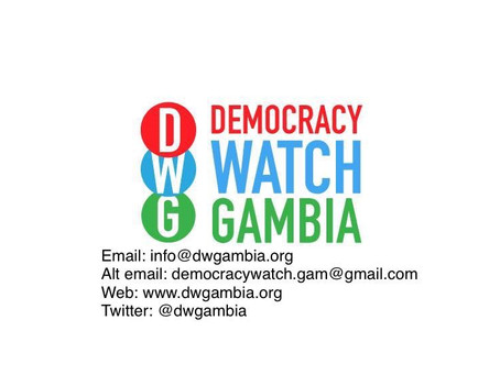 PRESS RELEASE - Democracy Watch Gambia