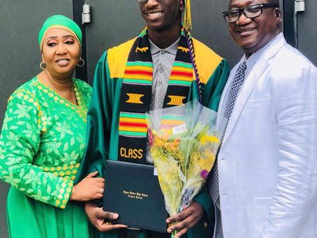 Senegambian Community in Kentucky celebrate young Gunjur scholar