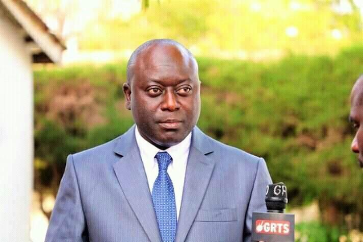 Gambian Information Minister Ebrima Sillah