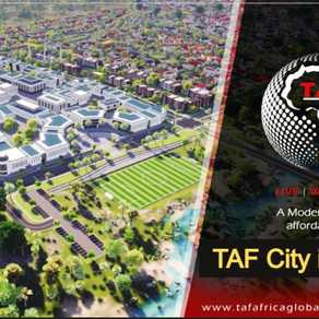 TAF City: Foundation stone laid for a new city in Gunjur