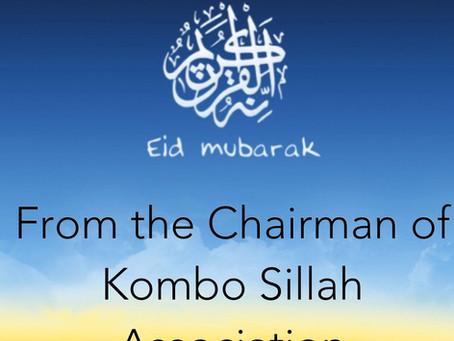 Eid Al Adha Message from KSA Chairman