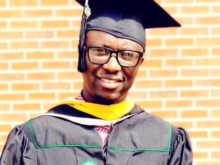 Gunjur gets new graduate: Abass Jaffuneh bags Masters degree in Psychiatric Mental Health Practice