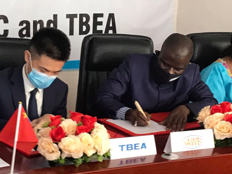 NAWEC Signs contract with Chinese power and transformer manufacturer TBEA