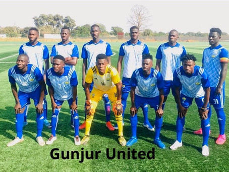 A Meen Faal lone goal earned Gunjur United victory over 2nd Infantry